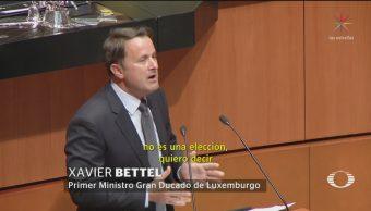 Foto: Primer Ministro Luxemburgo Defiende Diversidad Sexual 9 de Abril 2019