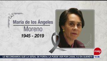 FOTO: ¿Quién era María de los Ángeles Moreno Uriegas?, 27 ABRIL 2019