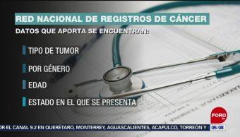 Foto: Red Nacional de Registros Cáncer México 9 de Abril 2019