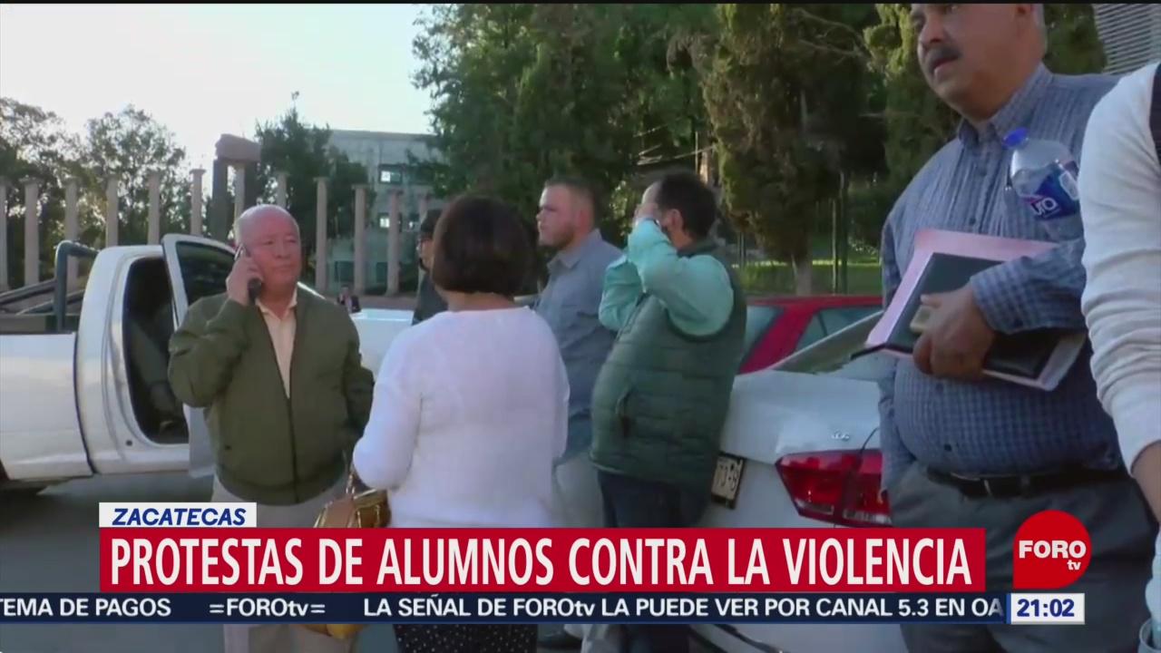 Foto: Emergencia Homicidios Estudiante Zacatecas Estudiante Derecho 11 de Abril 2019