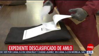Foto: Revelan Expediente DFS Amlo PRI Tabasco 16 de Abril 2019