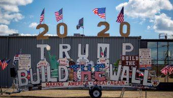 Foto: Robert Cortis es partidario de Donald Trump, 11 abril 2019