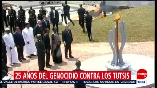 FOTO: Ruanda conmemora 25 años del genocidio contra los Tutsis, 7 de abril 2019