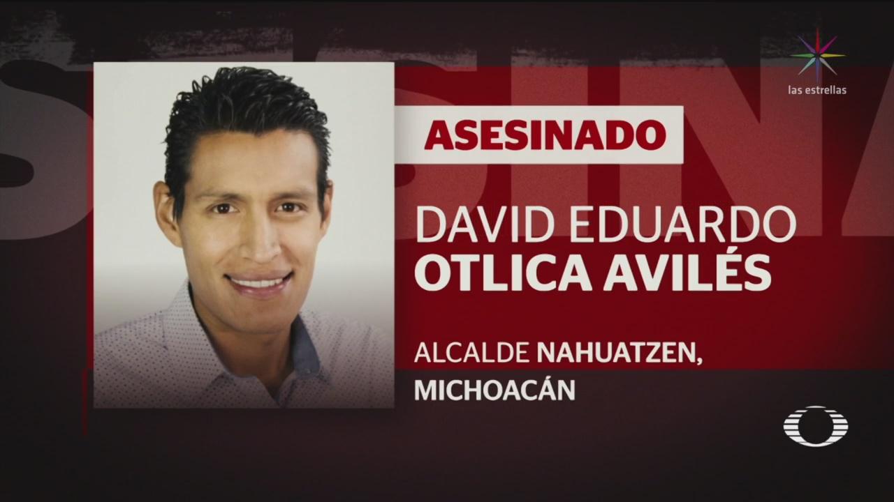 Foto: Secuestran Asesinan Alcalde Nahuatzen Michoacán 23 de Abril 2019
