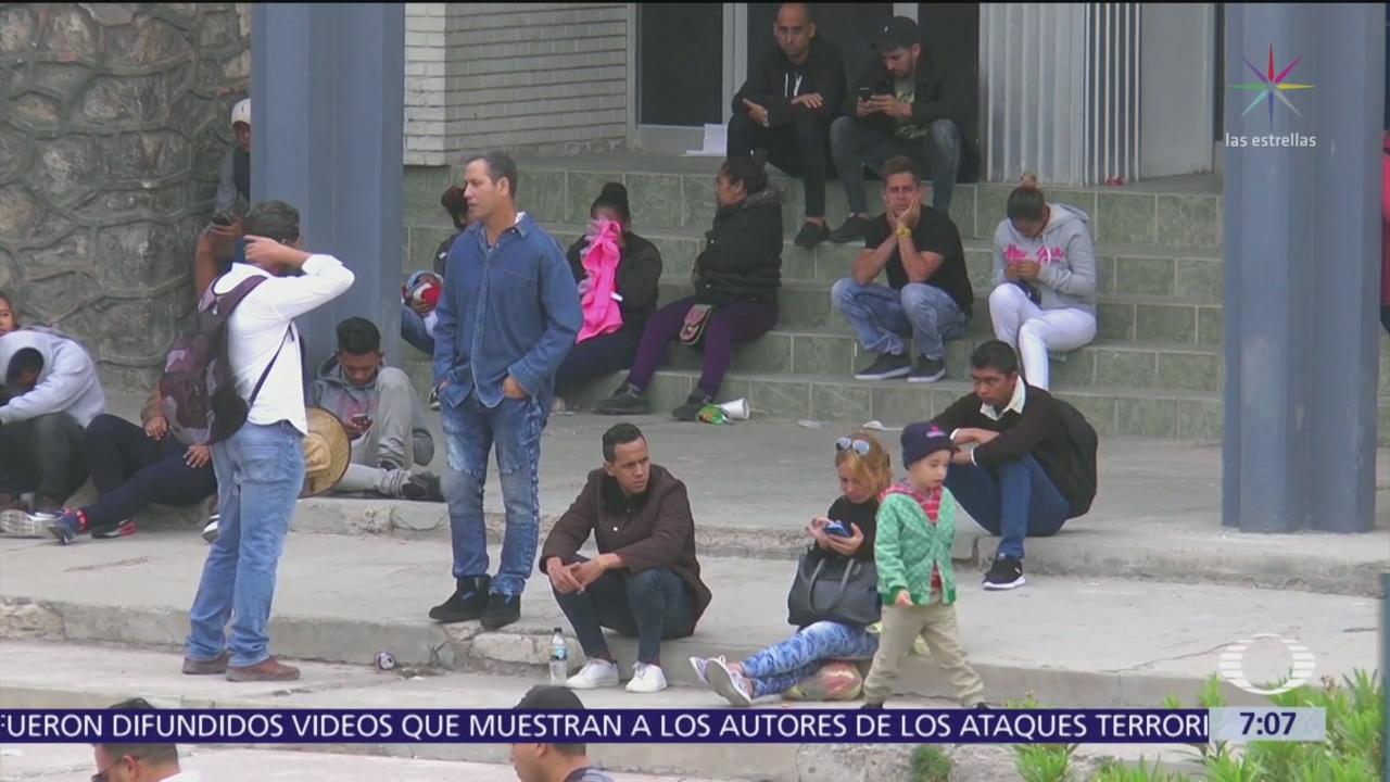Suman 5 mil migrantes en Chihuahua que esperan asilo en EU
