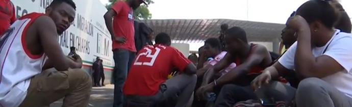 FOTO Tapachula se convierte en refugio de migrantes de todo el mundo Noticieros Televisa abril 2019 chiapas