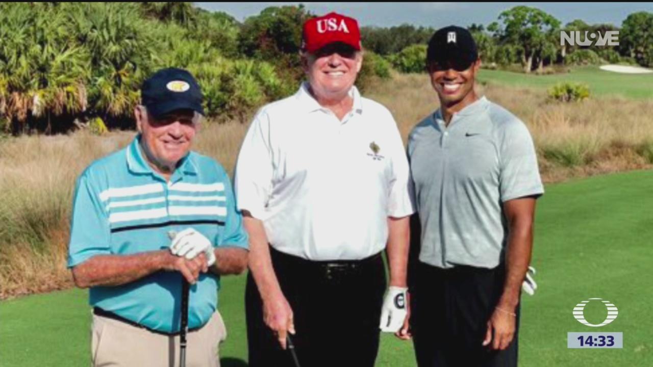 Foto: Trump despide a mexicano de campo de golf