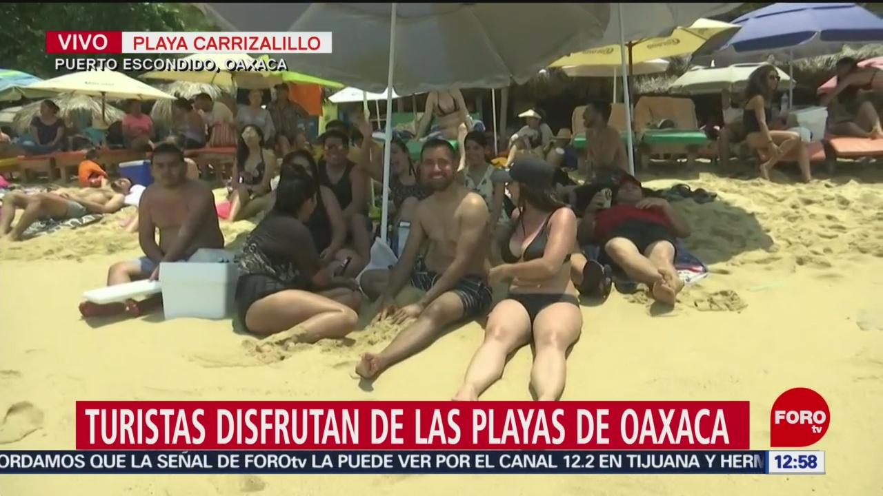 FOTO: Turistas abarrotan las playas de México en Semana Santa, 19 ABRIL 2019