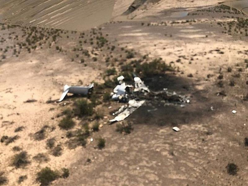 El clima, probable factor en accidente de avión ejecutivo que cayó en Coahuila