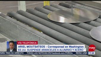 Foto: Acuerdos Aranceles Aluminio Acero EU 17 Mayo 2019