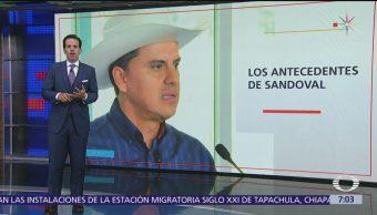 Acusa Tesoro de EU a Roberto Sandoval
