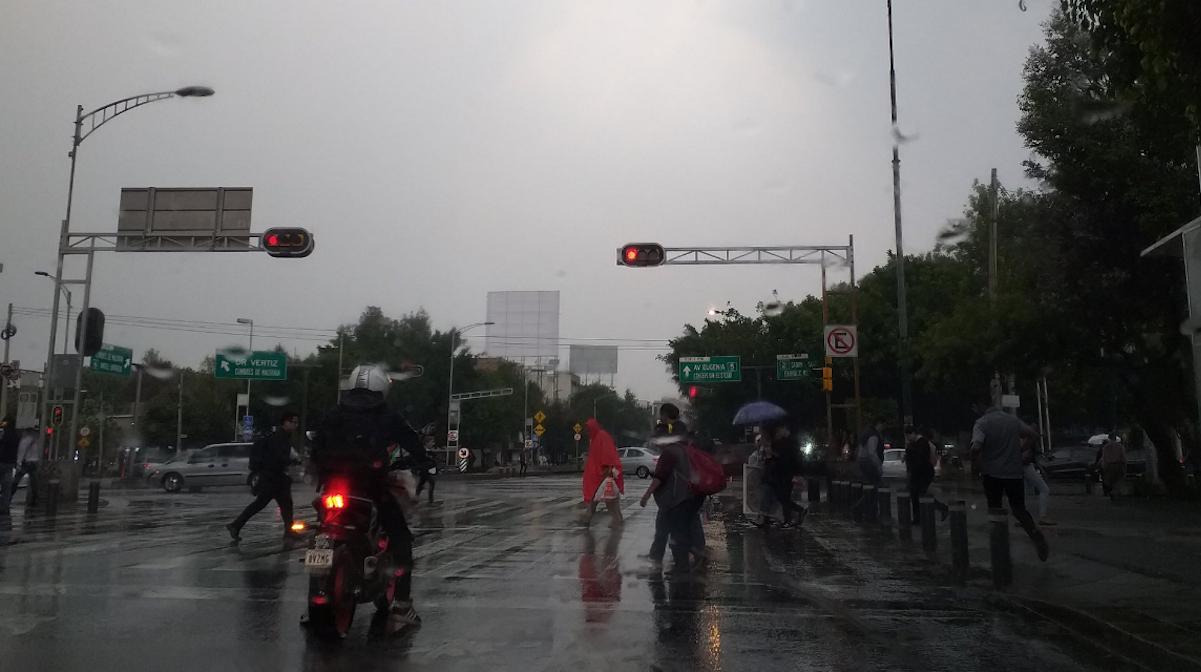 Foto Lluvias CDMX Alerta Amarilla 16 Mayo 2019
