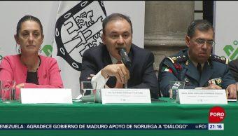 Foto: Alfonso Durazo detalla operación de la Guardia Nacional