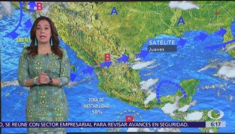 Ambiente muy caluroso y lluvias se prevén en gran parte de México