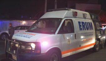 Foto: Ambulancia del Escuadrón de Rescate y Urgencias Médicas, 11 mayo 2019