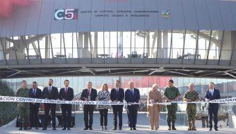 Foto AMLO inaugura el C5 en Hidalgo 8 mayo 2019