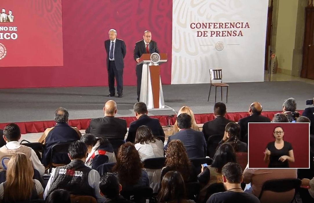 Foto: AMLO presenta a titular de Instituto para devolver al pueblo lo robado, 21 de mayo de 2019, Ciudad de México
