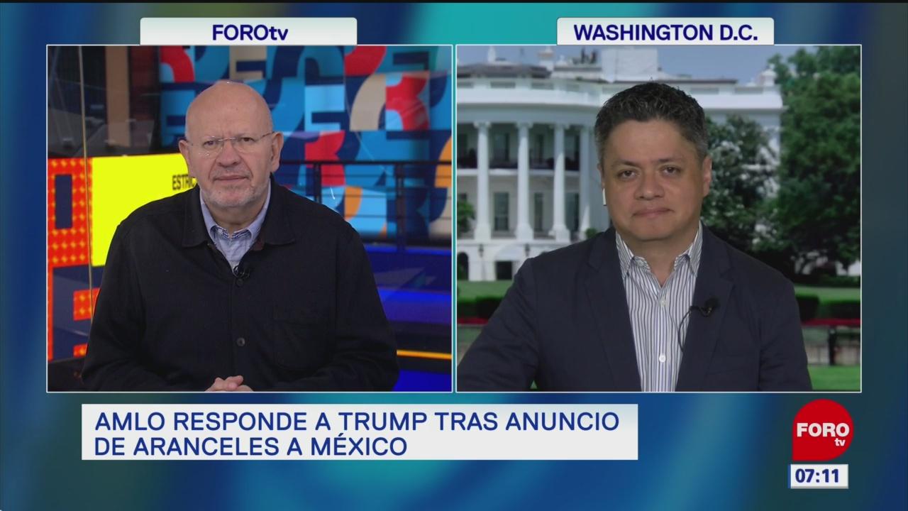 AMLO responde a Trump tras anuncio de aranceles a México