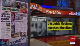 Análisis de las portadas nacionales e internacionales del 20 de mayo del 2019