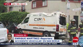 FOTO: Aparatoso choque vehicular en la CDMX