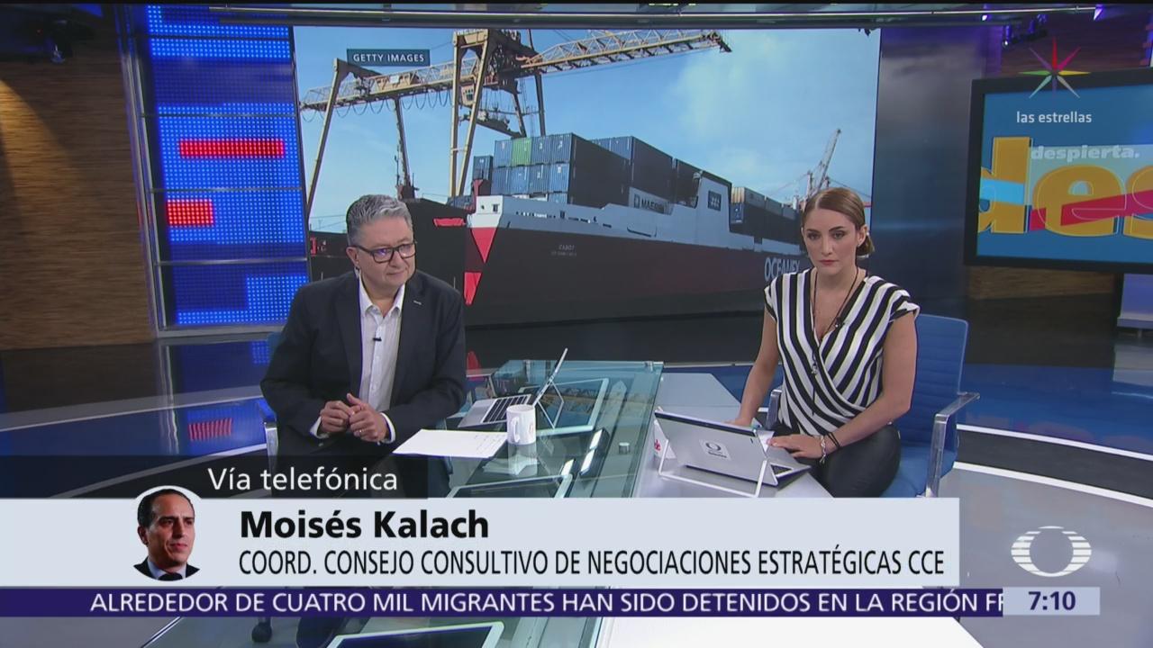 Aranceles de Trump pueden traer consecuencias a todos: Moisés Kalach