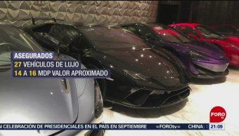 Foto: Decomisan Carros Lujo Cateos Guanajuato 16 de Mayo 2019