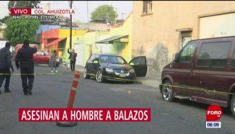 Asesinan a hombre a balazos en Naucalpan, Estado de México