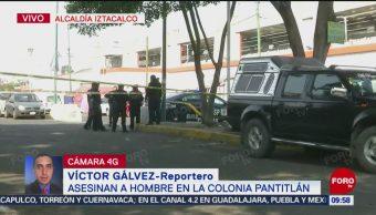 FOTO: Asesinan a hombre en la colonia Pantitlán, 18 MAYO 2019
