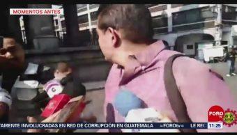 Así ocurrió la balacera en el Zócalo de Cuernavaca