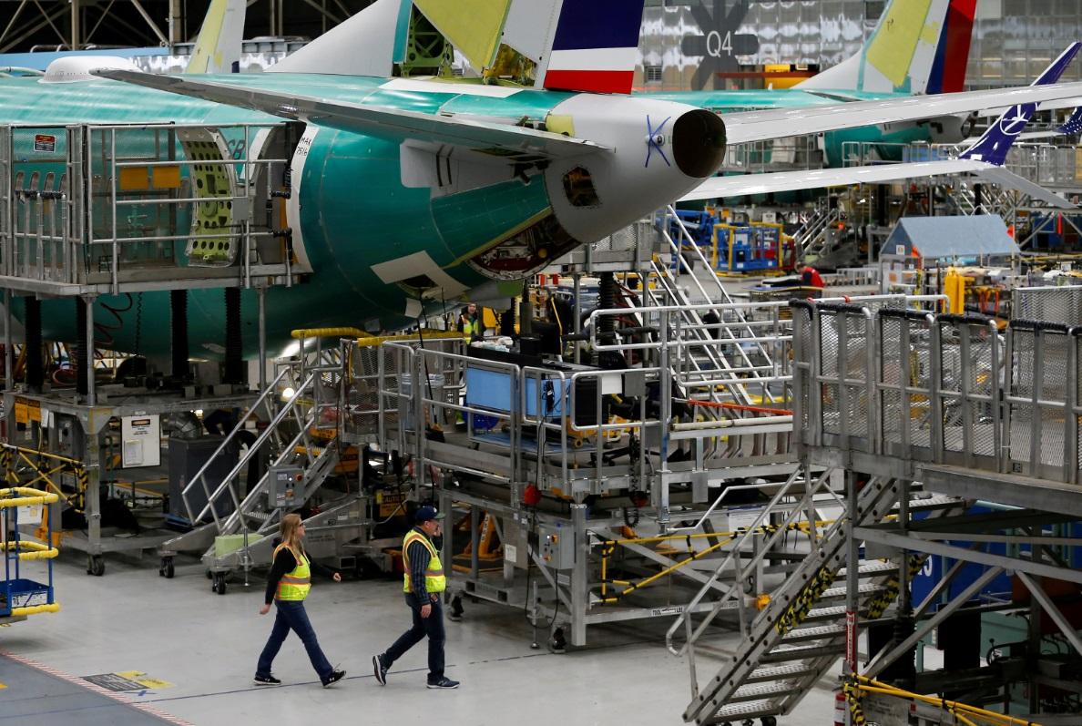 Foto: Boeing insiste en que alerta AOA no es necesaria para la seguridad de vuelos, mayo 5 de 2019 (Reuters)