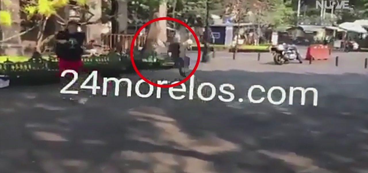 Foto: Balacera en Cuernavaca deja dos muertos