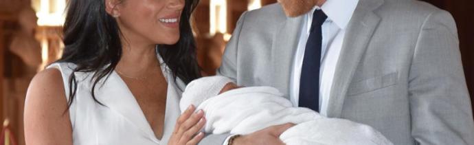 Bebé Sussex se llama Archie Harrison Mountbatten-Windsor (Instagram)