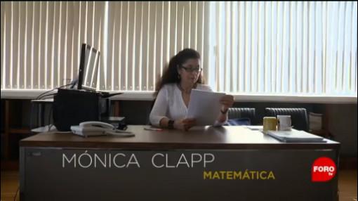 FOTO: Belleza de las matemáticas de acuerdo con Mónica Clapp, 5 MAYO 2019