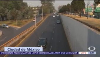 Buena circulación vial en Circuito Interior y Tlalpan, CDMX