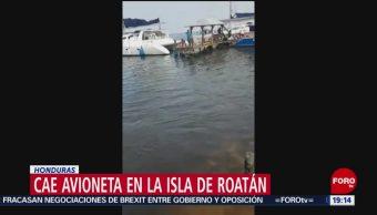 FOTO: Cae avioneta en el Caribe de Honduras; hay 3 muertos, 18 MAYO 2019