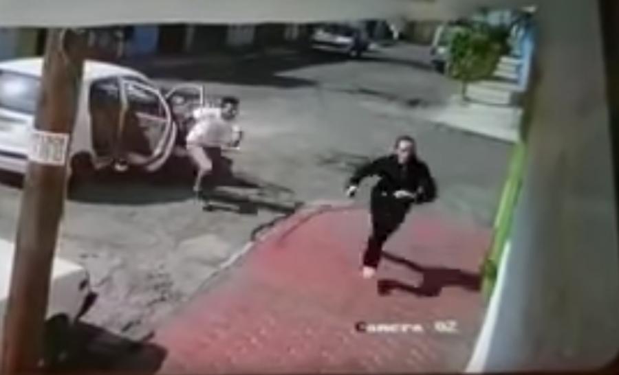 Foto Captan presunto intento de secuestro en Ecatepec 22 mayo 2019