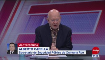 Casos de homicidios se incrementaron en Playa del Carmen, dice Alberto Capella
