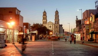 Foto: Zócalo de Ciudad Juárez, 2 de mayo 2019. Twitter @MunicipioJuarez
