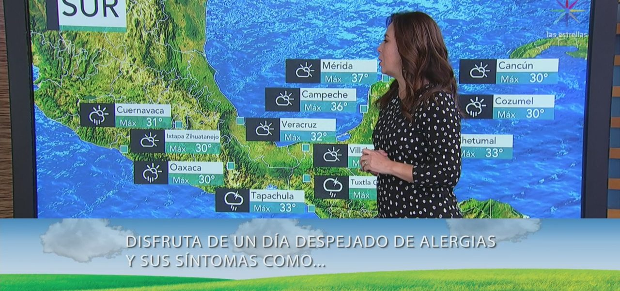 Clima Al Aire: Prevén chubascos en el Valle de México