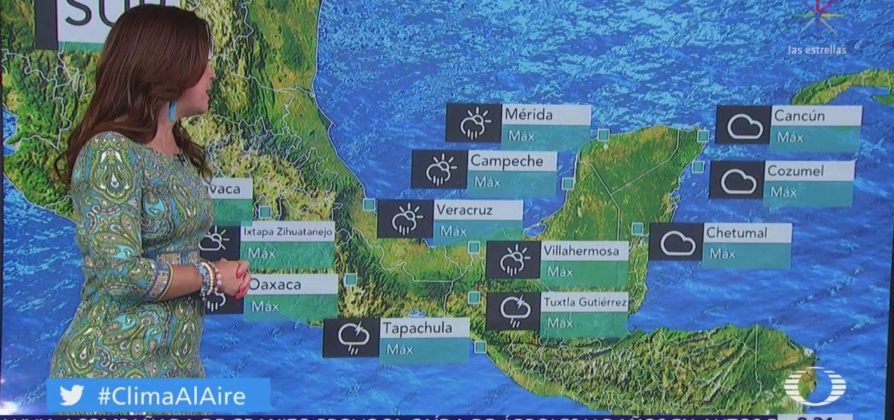 Clima al Aire: Pronostican lluvias y actividad eléctrica en Valle de México