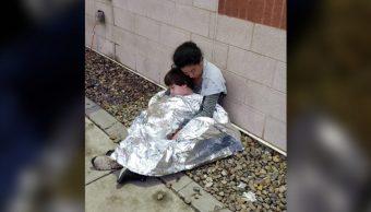 Foto CNN publica fotos migrantes en Texas en condición precaria 15 mayo 2019