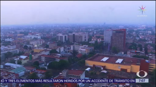 ¿Cómo se ve la nata de contaminantes en el Valle de México?