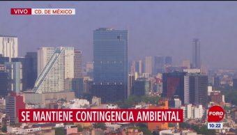 Contingencia ambiental extraordinaria por contaminación sigue en CDMX