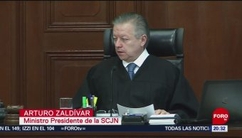 Foto: Corte Desecha Ley De Remuneraciones SCJN 14 de Mayo 2019