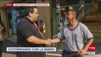 #CotorreandoconlaBanda: 'El Repor' suelto en Avenida Insurgentes y Chilpancingo