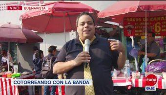 #CotorreandoconlaBanda: 'El Repor' suelto en Metro Buenavista