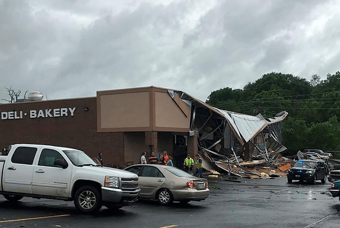 Foto; Daños por tormenta en Missouri, 21 de mayo de 2019, Estados Unidos