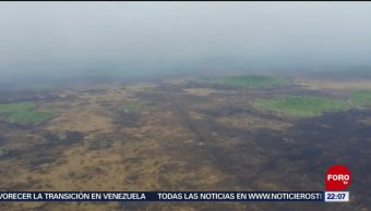 FOTO: Dejan daños incendios forestales en Quintana Roo y Yucatán, 5 MAYO 2019
