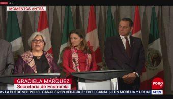 FOTO: Delegación mexicana acude a Canadá a negociaciones comerciales