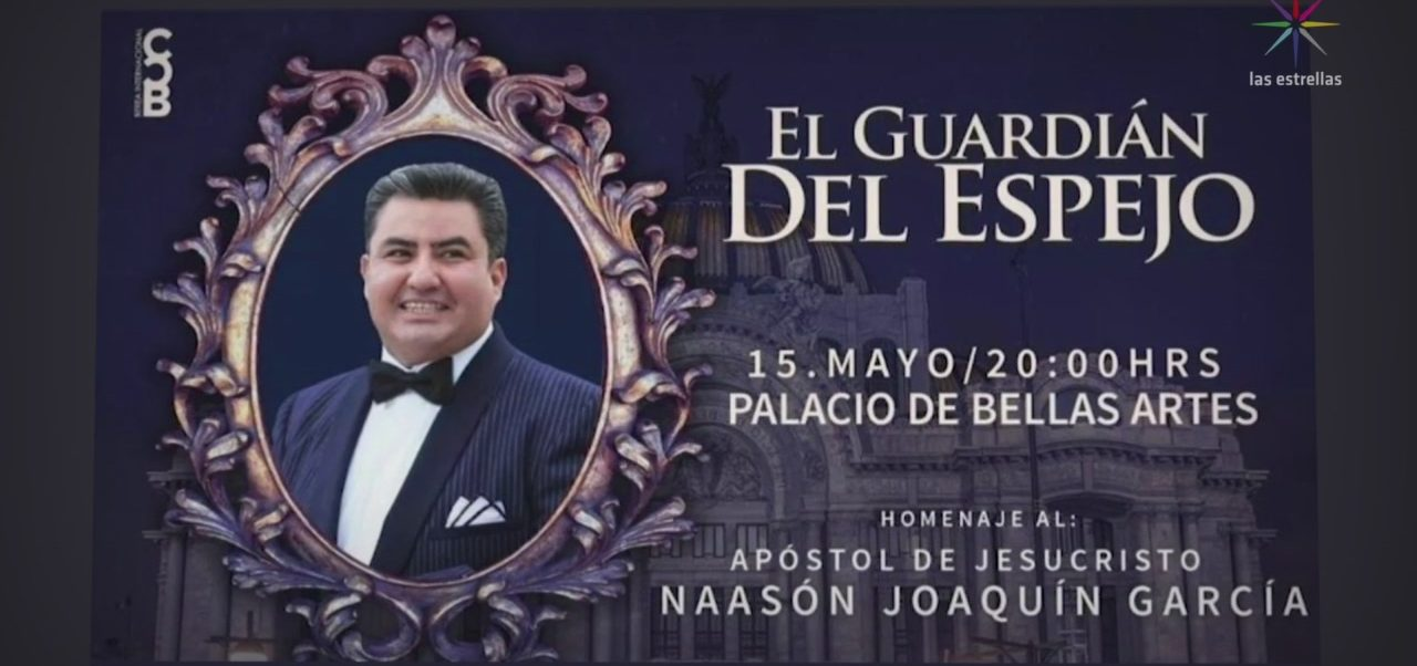 Foto: Homenaje Líder Iglesia Luz Del Mundo Bellas Artes 16 de Mayo 2019